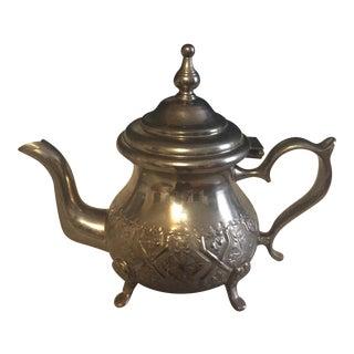 Middle Eastern Metal Tea Pot