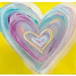 Image of 'SUMMERTiME Heart' Painting by Linnea Heide