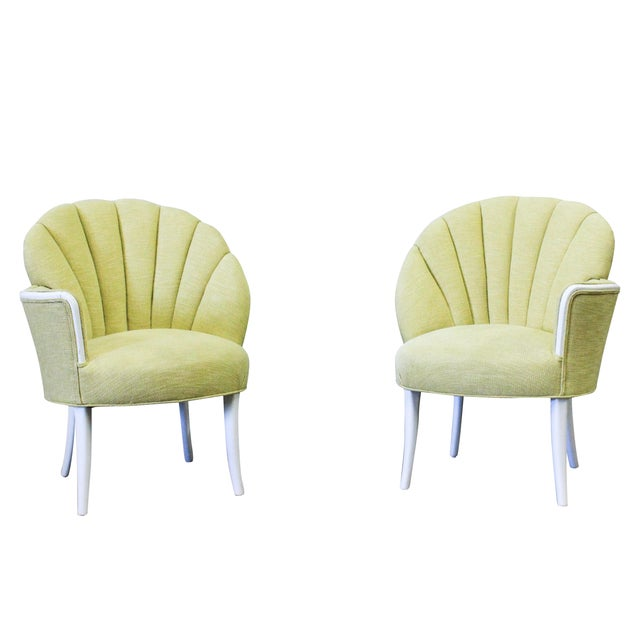 Pair of Heywood-Wakefield One Arm Chairs - Image 1 of 4