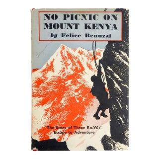 'No Picnic On Mount Kenya' by Felice Benuzzi
