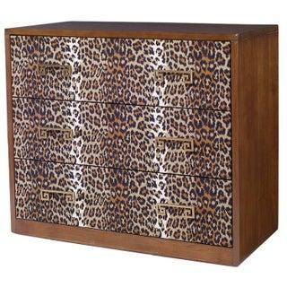 Kravet Leopard Print Camille Chest