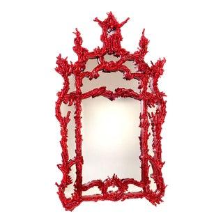 Red Pompidou Mirror