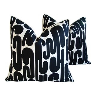 Circa 1963 Mid-Century Alexander Girard January Pillows - A Pair