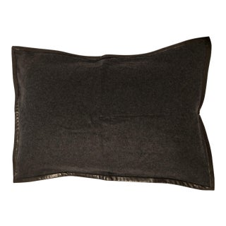 Ralph Lauren Cashmere & Leather Pillow Sham
