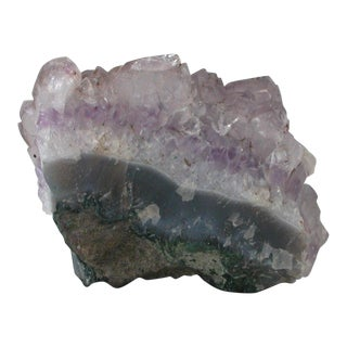 Purple Amethyst Geode Cluster
