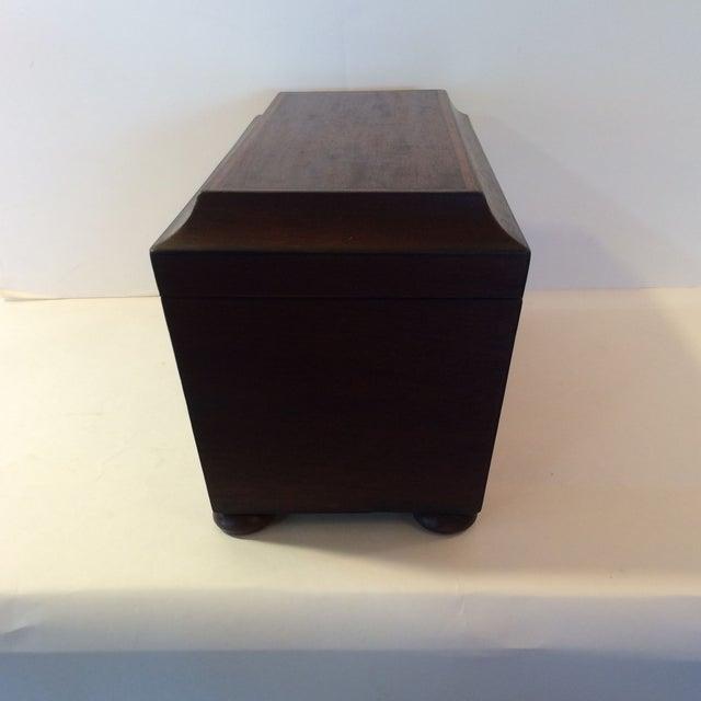 English Regency Triple Tea Caddy - Image 3 of 6