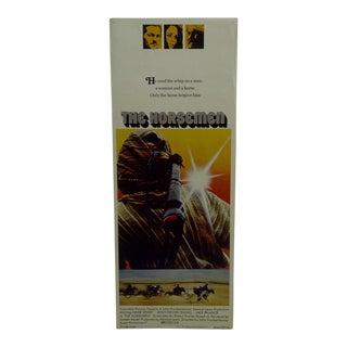 "1971 Vintage Movie Poster of ""The Horsemen"""