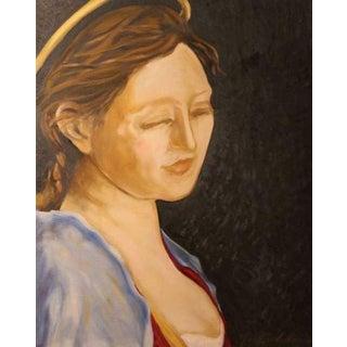 Elizabeth as Madonna