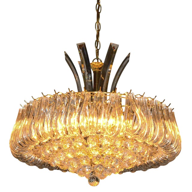 Triarch Lucite Chandelier Image 1 Of 6