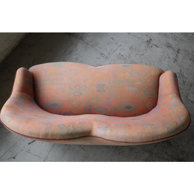 Mid Century Loveseat Attributed to IB Kofod Larsen - Image 8 of 10