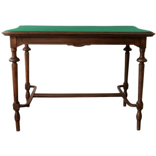 Victorian-Style Walnut Writing Desk