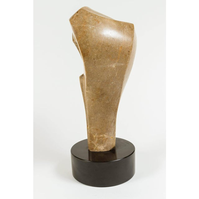 Abstract Stone Sculpture - Image 5 of 5