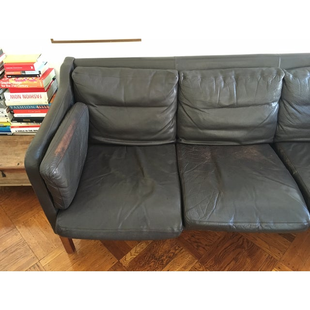 Image of 1960's Danish 3 Seater Couch