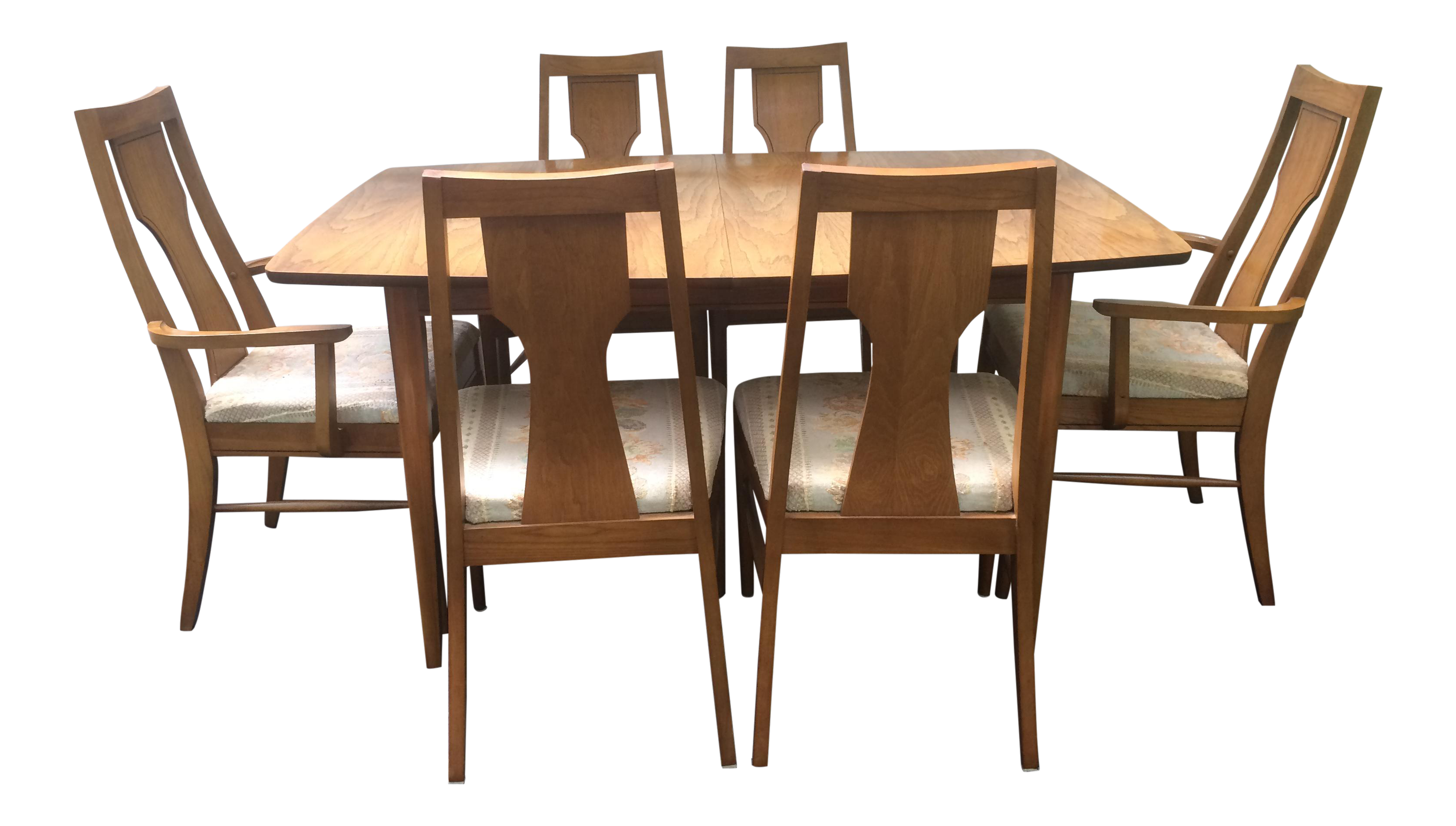 Kent Coffey Perspecta Series Dining Table U0026 6 Chairs Set