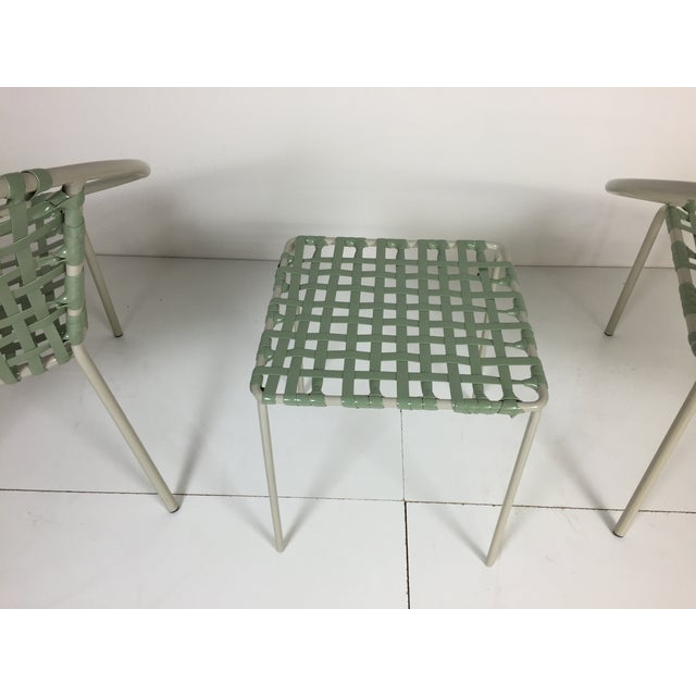 Mid-Century Green Hoop Chairs - A Pair - Image 8 of 8