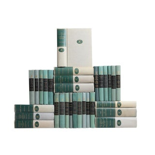 Modern Library Grey & Green Book Set, S/30