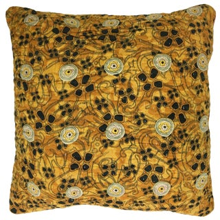 Vintage Kantha Pillow 16""