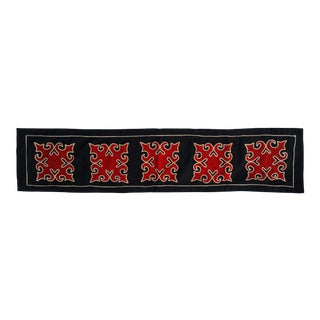 Yao Hill Tribe Appliqued Table Runner