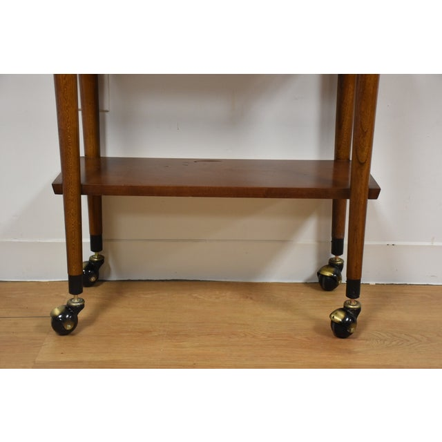 lane mid century modern bar cart chairish. Black Bedroom Furniture Sets. Home Design Ideas