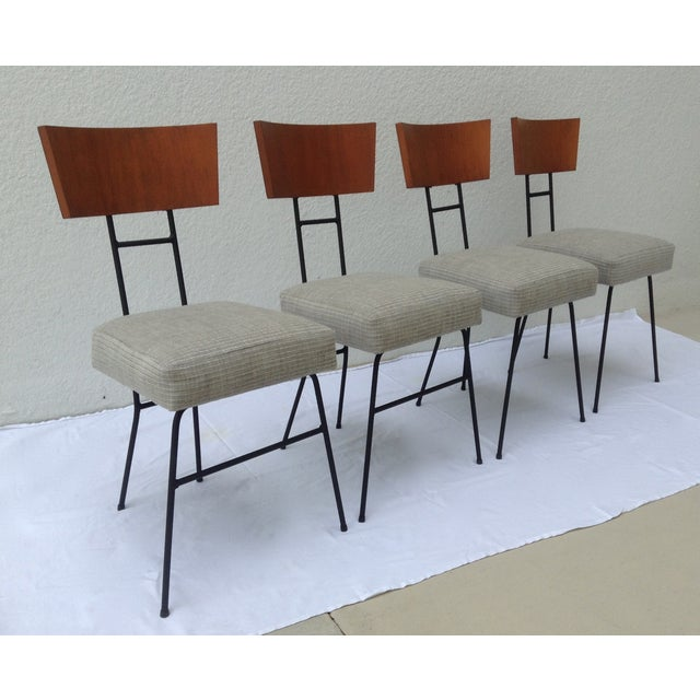 Paul McCobb Wood & Metal Chairs - Set of 4 - Image 3 of 11