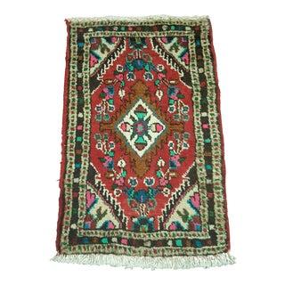 Persian Hamedan Rug- 1′3″ × 2′