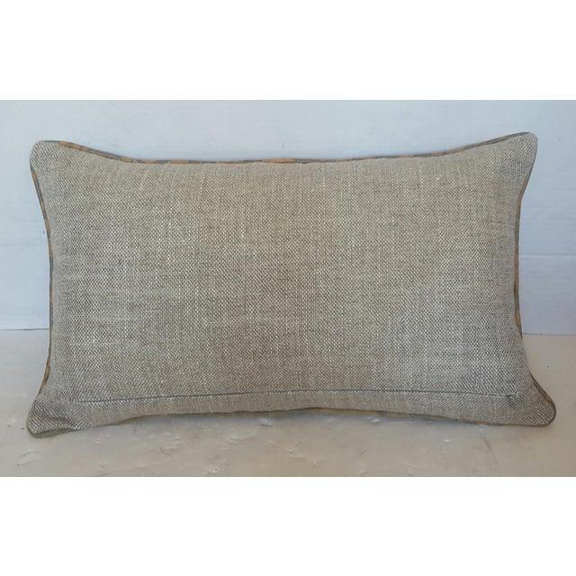Fortuny Damask Lumbar Pillows - A Pair - Image 4 of 4