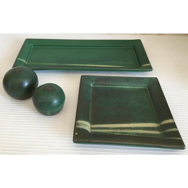 Northern Clay Center Earthenware Pottery Set - Set of 4 Pieces - Image 3 of 9