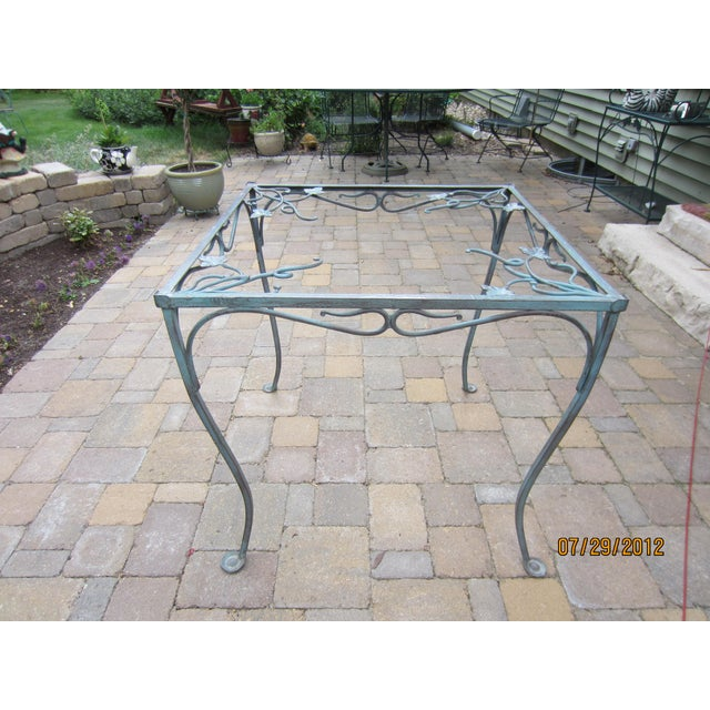Salterini Square Patio Dining Table Chairish