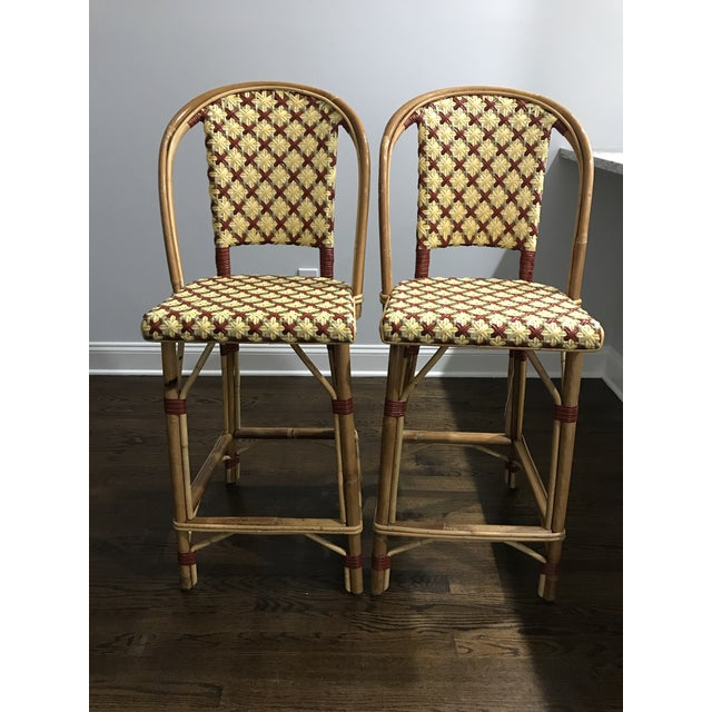 Maison Drucker French Bistro Bar Stools - A Pair - Image 6 of 7