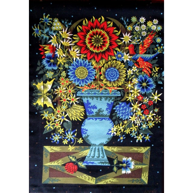 Alain Cornic for Aubusson Mid-Century Tapestry - Image 1 of 7