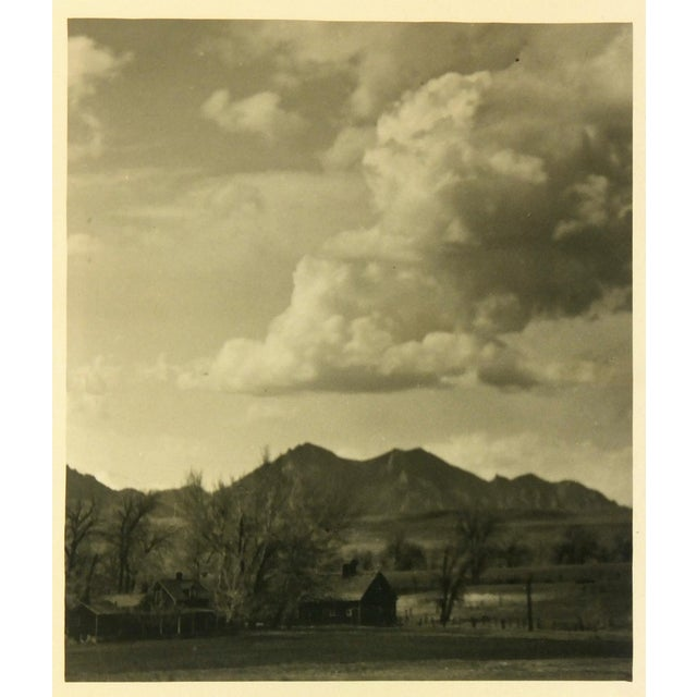 Image of Vintage 1940s Homestead Photograph