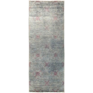 "Vibrance Hand Knotted Runner - 4'0"" X 10'3"""