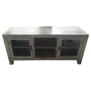 Reclaimed Media Console