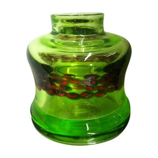 Modernist Italian Art Glass Vase - Antonio Da Ros