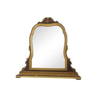 Painted Vanity Mirror