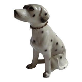 Vintage Ceramic Dalmatian Dog Figurine