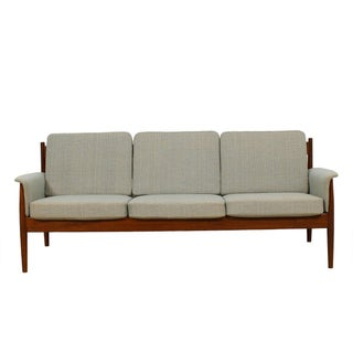 Grete Jalk for France & Sons Danish Modern Teak Sofa