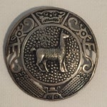 Image of Vintage Sterling Peruvian Llama Pin