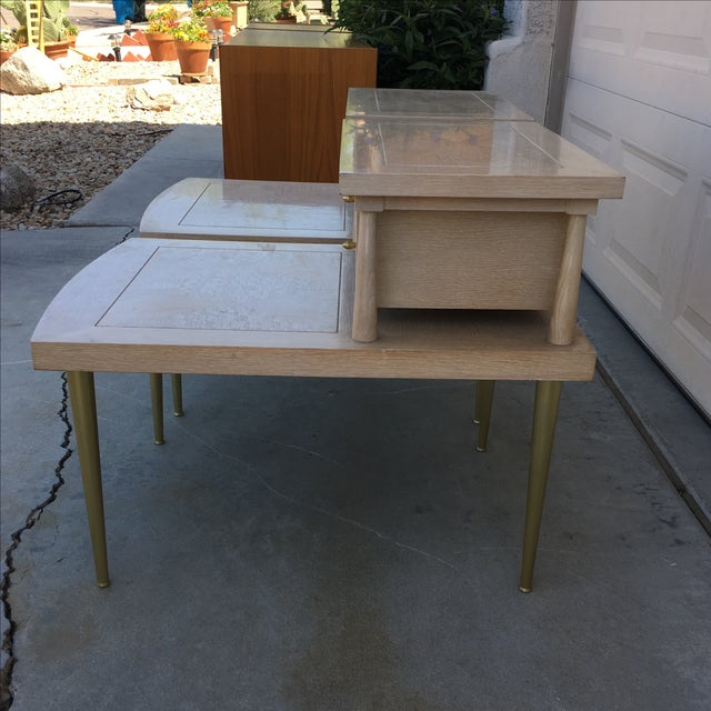 Mid-Century Modern Lane Maple Nightstands - A Pair - Image 7 of 11