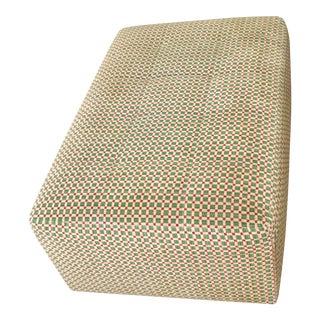 Brunschwig & Fils Fabric Upholstered Ottoman