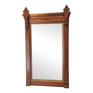 Eastlake Style Victorian Mirror