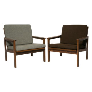 Wikkelso for Ellersen Rosewood #4 Chairs - A Pair