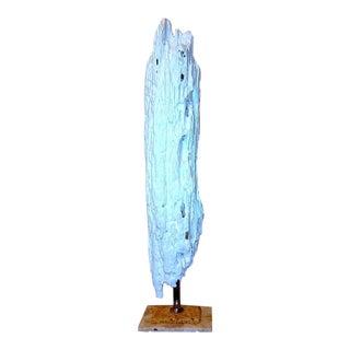 Modernistic White Driftwood Sculpture