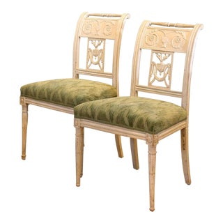 18th Century Baltic Side Chairs - A Pair