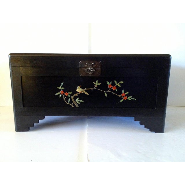 Chinese Chest With Stone Inlay - Image 4 of 11