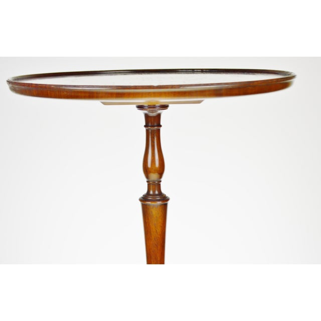 Vintage Kittinger Furniture Candle Stand Side Table - Image 6 of 11 - Vintage Kittinger Furniture Candle Stand Side Table Chairish