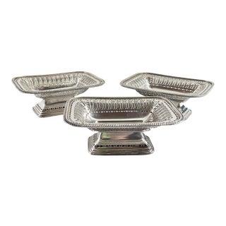 Ellis Barker Silverplate Dishes - Set of 3