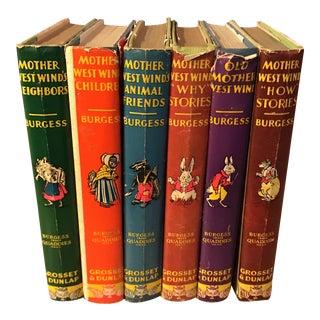 Thornton Burgess Children Classic Mother West Wind - Set of 6