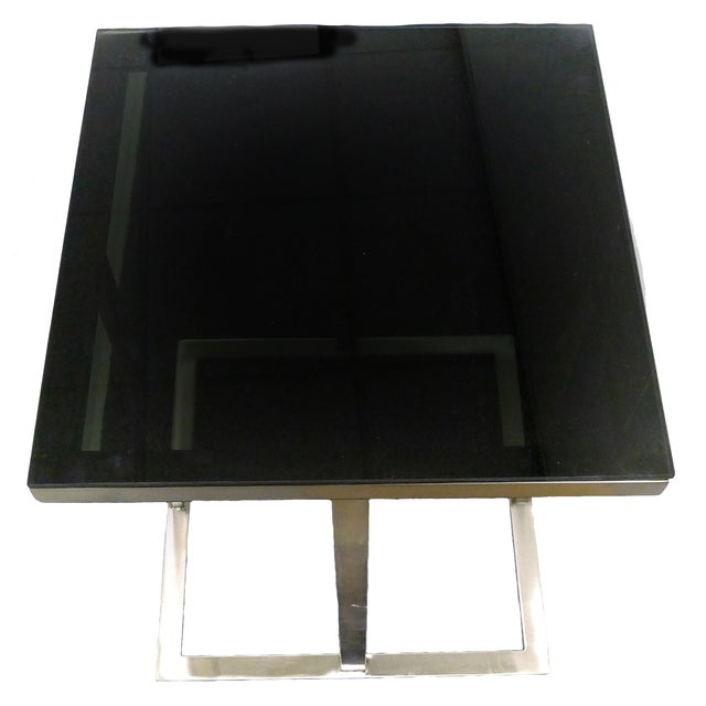 Metal & Glass Side Table - Image 3 of 3