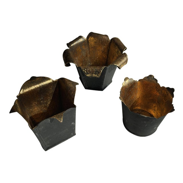 Image of Black and Gold Votives, 3